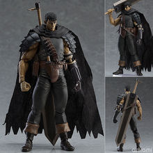 Game Berserk Figma 359# Figure Anime Guts Black Swordsman Ver Repoint Edition PVC Action Figures Model Collection Toys