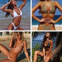 New Sexy Push-Up Bra Beachwear Bikini Set Swimwear 2019 biquini woman swimsuit M57