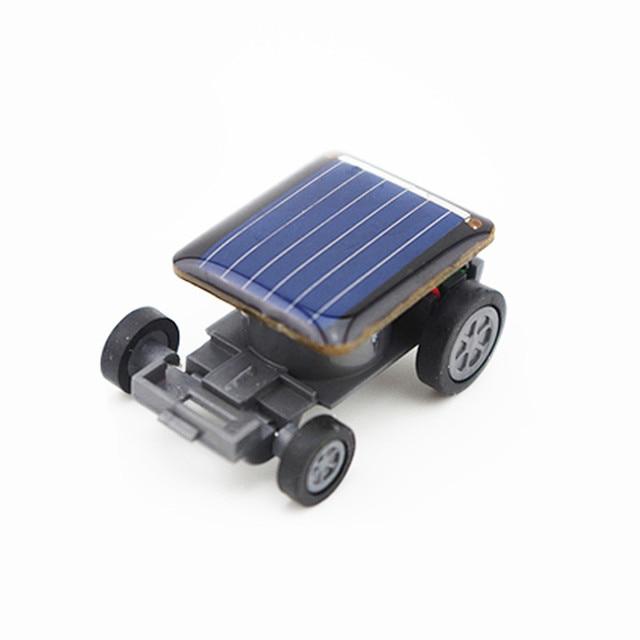 Smallest Mini Solar Power Toy Car 3
