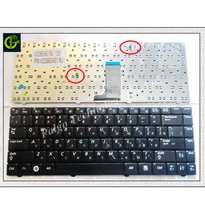 563077f64c7 Russian Keyboard for Samsung R517 R519 NP-R519 NP-R519 V020660AS1 ...