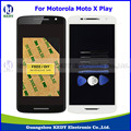 Original LCD Display Touch Screen Digitizer Assembly with Frame for Motorola Moto X Play X3 XT1562 XT1563 + Tools