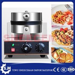 electric egg waffle machine household Heart shaped electric waffle making furnace machine waffle on a stick machine
