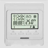 1PC 220V LCD Programmable Electric Digital Floor Heating Room Air Thermostat Warm Floor Controller
