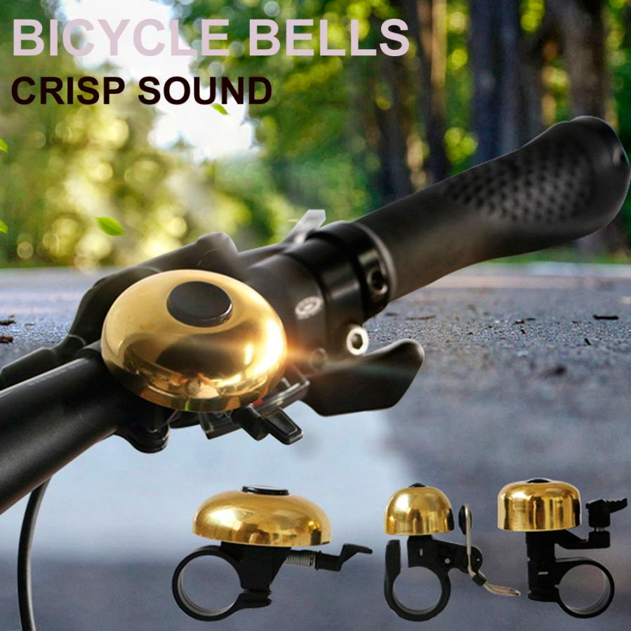 Durable Cycling Alarm Warning Ring-down Horn Bike Bicycle Bell with Compass Hot
