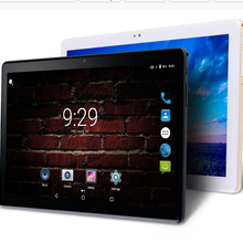 2.5D Tempered Glass 10 inch Tablet PC Android 7.0 4G LTE 10 Core 4GB RAM 32GB ROM HD 1920*1200 IPS Bluetooth Wifi GPS+Keyboards