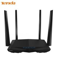 Tenda AC6 Kablosuz WiFi Router, 1200 Mbps 11AC Dual Band WiFi Tekrarlayıcı WPS WDS 802.11ac App Kontrol PPPoE, L2TP AB/ABD/RU Firmware