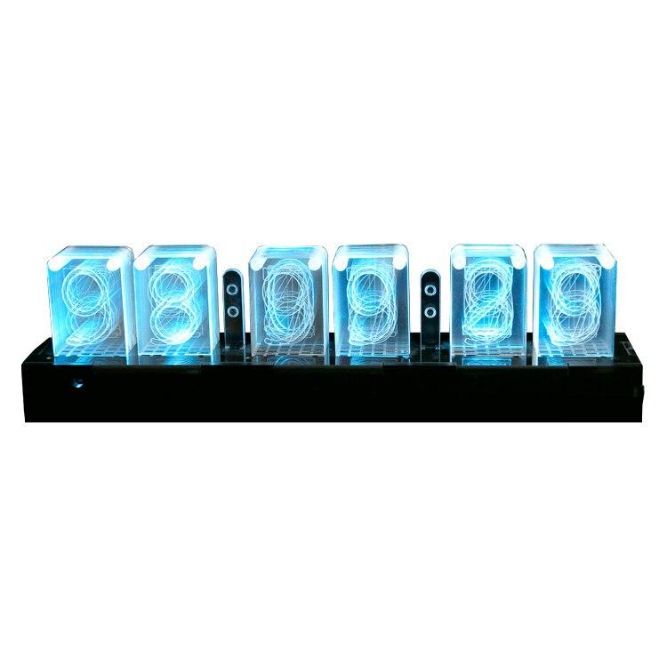 5 V alimentation infrarouge télécommande créative 3D coloré numérique rétro électronique horloge physique Science expérience Geek jouet
