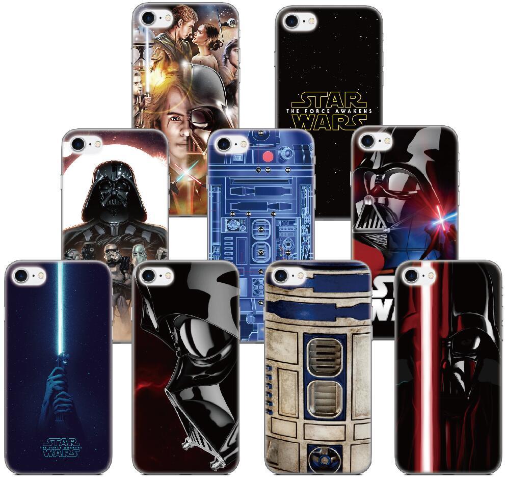 Star Wars Darth Vader Case For Samsung Galaxy A5 A7 2018 Version S9 Plus S5 S6 S7 Edge Note 3 4 5 E5 Phone Cover Coque Fundas