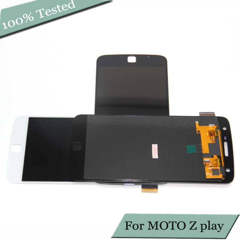 For Motorola Moto Z Play Display <font><b>XT1635</b></font> LCD <font><b>screen</b></font> Touch <font><b>Screen</b></font> Digitizer assembly For Moto <font><b>XT1635</b></font> LCD image