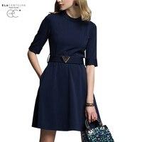ElaCentelha Women Summer Autumn Dress 2016 Big Yards In The Women S Dress Foreign Trade Sleeve