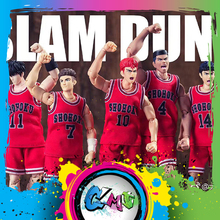 CMT Instock Dasin דגם DM סלאם דאנק Rukawa Shohoku כדורסל PVC פעולה איור אנימה צעצועי איור