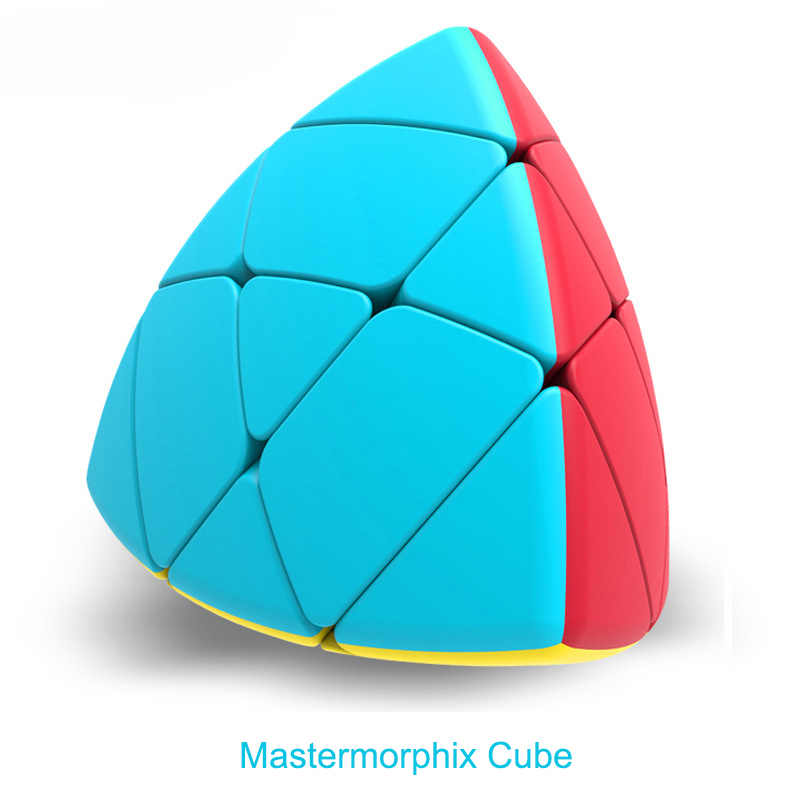 QiYi 3x3 Profissional Mastermorphix Cube Competition Speed Puzzle Cubes Toys For Children Kids Cube Game-specific 4 Colors