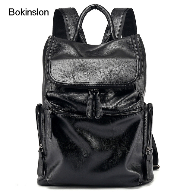 89c30930f253 Bokinslon Brand Backpack Woman College Wind Casual Backpack Girl Fashion  Popular Backpacks Women s Bags