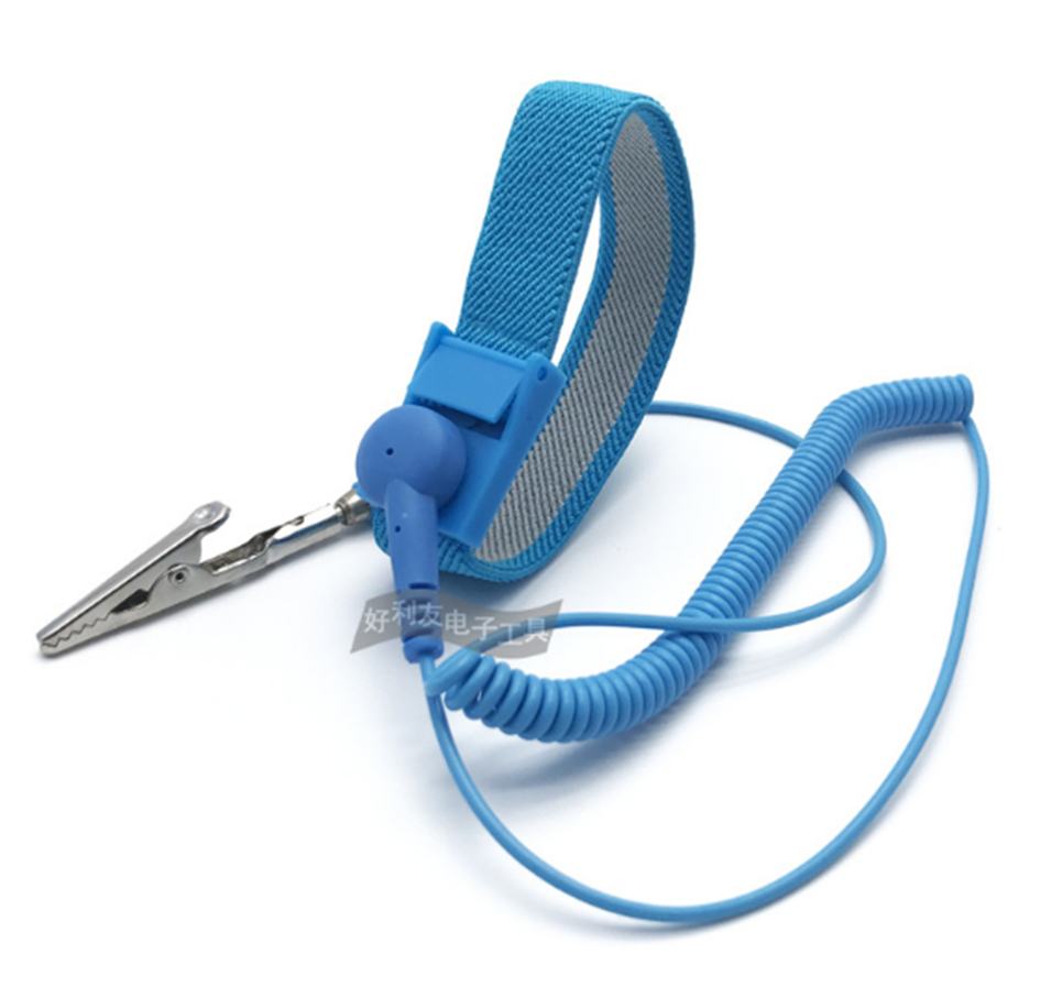 Imported From Abroad Free Shipping Posh Esd Adjustable Wrist Strap New Anti Static Antistatic Esd Adjustable Wrist Strap Band Grounding Clip Back To Search Resultstools