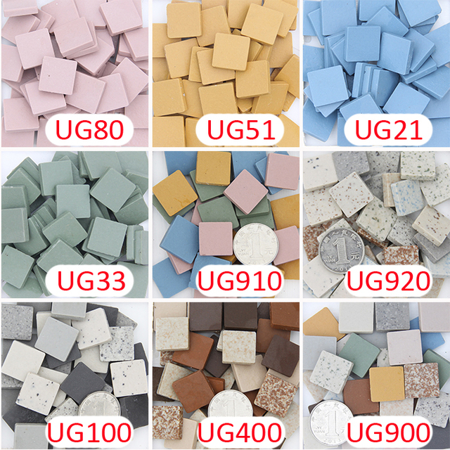 200 gram 2cm . 20mm .3/4 inch unglazed ceramic Porcelain tiles-in ...
