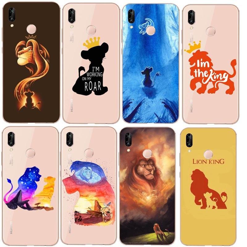 100% Waar De Lion King Grumpy Kat Simba Zachte Siliconen Tpu Cover Case Voor Rode Rijst Note5pro Xiao Mi Mi 6 Plus Mi 8 Mi 5 Splus Cover