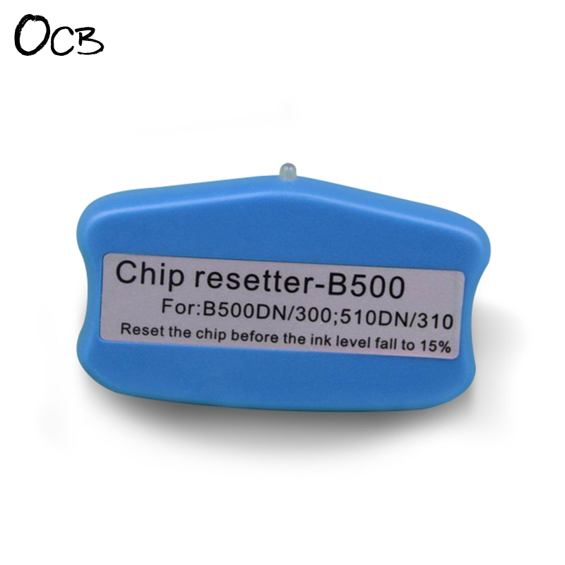 Cartridge Chip Resetter For Epson B-300DN B-500DN B-310DN B-510DN B-308DN B-508DN B-318DN B-518DN Printer cs dx18 universal chip resetter for samsung for xerox for sharp toner cartridge chip and drum chip no software limitation