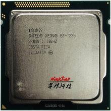 Четырехъядерный процессор Intel Xeon E3-1225 E3 1225 3,1 ГГц 6M 95W LGA 1155