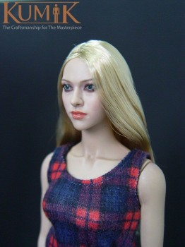 1/6 scale headplay figure head model female girl woman KM-048 hair Amanda Seyfried 12 action figure collection doll toys gift 1 6 scale curse of michael myers collection action figure doll model toys