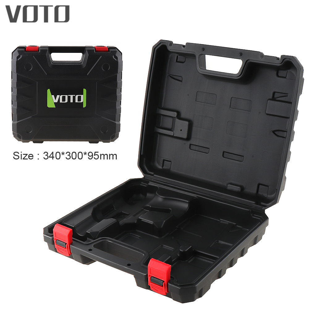 VOTO Power Tool Suitcase Electric Drill Dedicated Plastic Tool Box with 340mm Length and 300mm Width