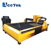 China jinan sheet metal cutting machine good quality used cnc plasma cutting machine