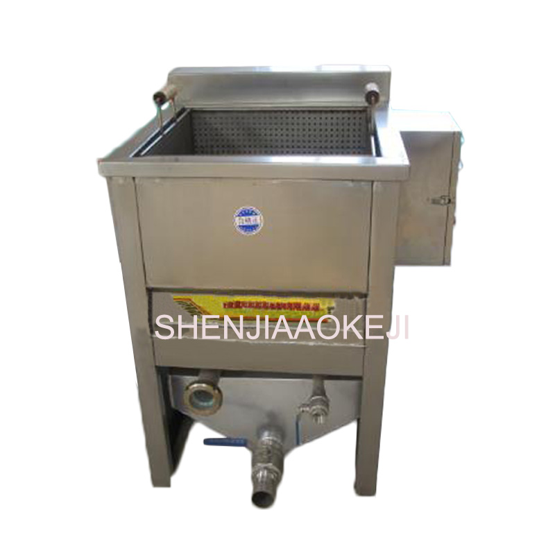 CY500 Single basket oil-water separation square fryer Semi-automatic fryer French fries processing machine 380V 1pc konka microcomputer intelligent control air fryer 2 5l smokeless electric air fryer french fries machine non stick fryer 220v eu