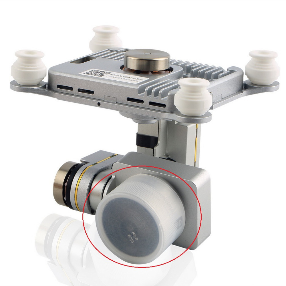 Professional Advanced Lens Cap Protective Cover Transparent For DJI Phantom 3 Drop shipping