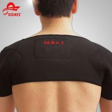 Unissex neoprene ombro protetor alívio da dor ombro cinto artrite dor remendo neoprene ombro duplo suporte para venda