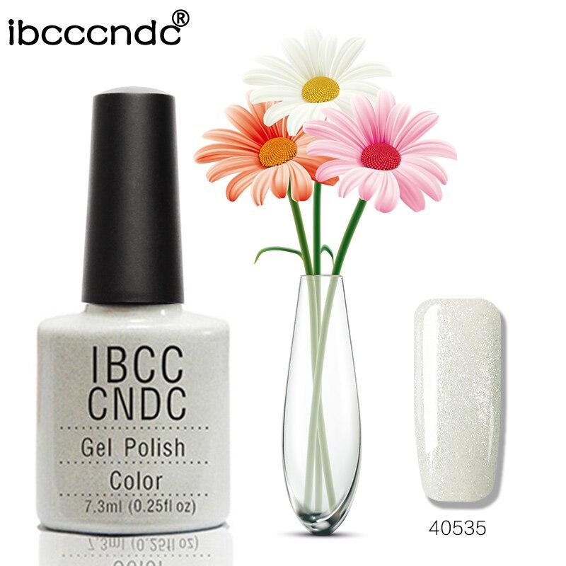 Ny IBCCCNDC Nail Gel Polish Salon Nail Art Design Lack Soak Off LED - Nagel konst