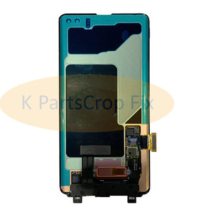 Image 5 - AMOLED For Samsung Galaxy S10 2019 SM G9730 G973F LCD Display Touch Screen Digitizer Replacement For SAMSUNG S10 Plus G9750 LCD