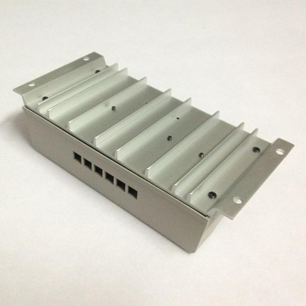 Image 4 - 10 pces, lotes mppt 30a mppt 30 controlador de carga solar 12 v 24 v trabalho automático com display lcd atacadodisplay poledisplay handcontrol v -