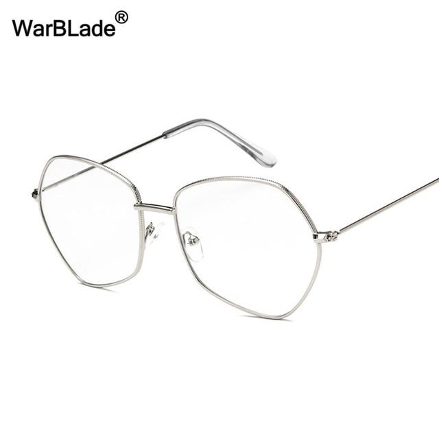 Fashion Black Glasses Frame Women Men Square light Optical ...