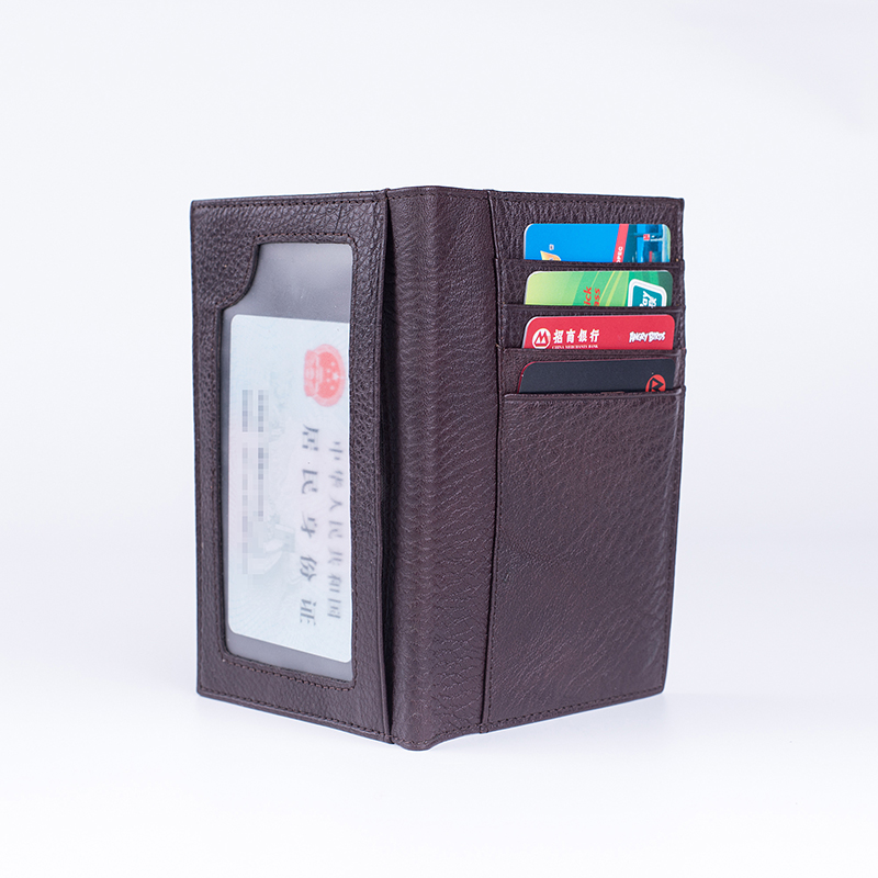 Genuine Leather Russian Drivers License Wallet Credit Id Card Holder Slim Cow Leather Driver License Cover 9.6*13.7cm
