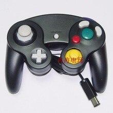 10 pcs Wired Game Controller Gamepad Joystick Com Um Buttonfor GameCube GC N frete grátis