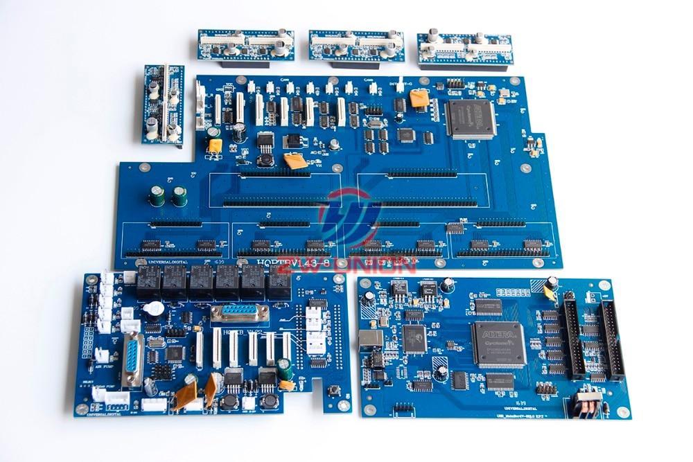 Best Price!!infiniti solvent printer usb 8 printhead board full set (headboard mainboard IO board transfer board) цена