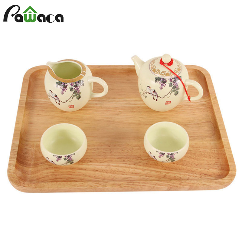 Classic Wood Serving Tray Plate Tableware Handcrafted ...
