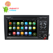 7″ Android 5.1 Quad Core  Car GPS Navigator dvd Player For Audi A4 / S4 / RS4 / Seat Exeo With WIFI Bluetooth FM  + Free Camera