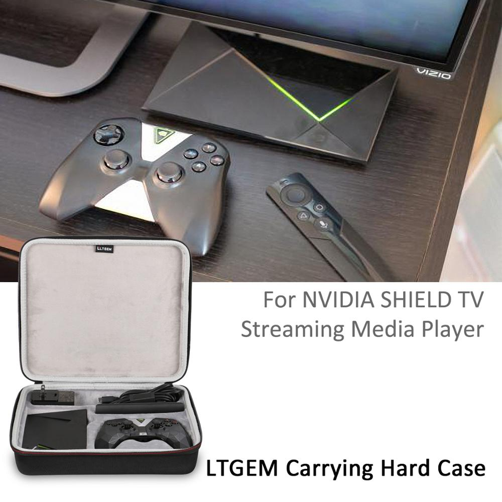 LTGEM NVIDIA SHIELD TV Streaming Media Player Case - Travel Protective Carrying Case for NVIDIA Shield Media Player , Remote image