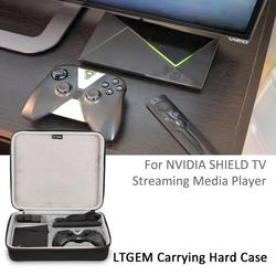 Ltgem nvidia protetor de tv streaming media player caso-viagem caso de transporte protetor para nvidia escudo media player, remoto
