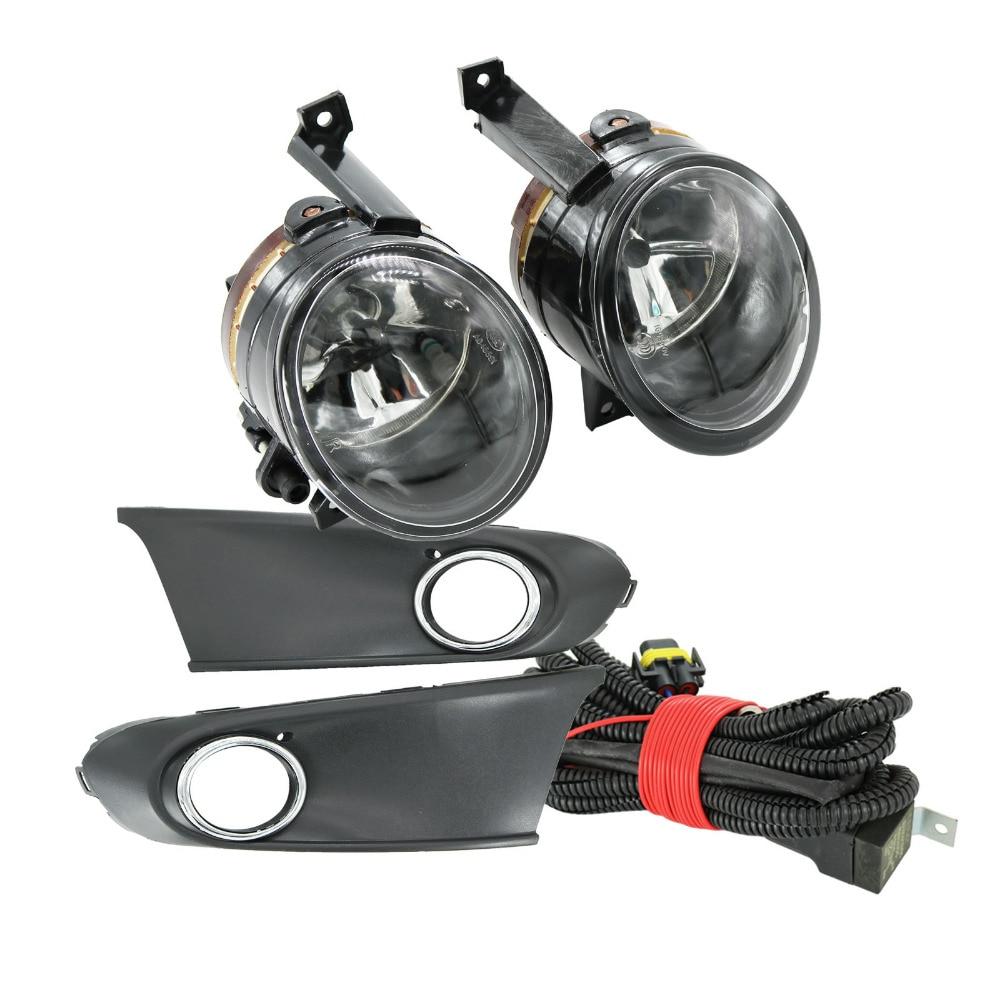 For VW Polo Vento Sedan Saloon 2011 2012 2013 2014 2015 2016 New Fog Light Fog Lamp Fog Light Cover And Harness Assembly