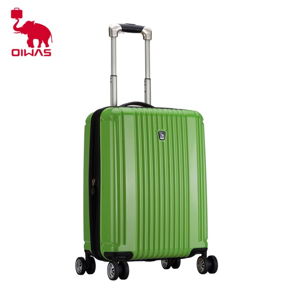 OIWAS 20 inch 38L Rolling Luggage Case Travel Trip Business Universal Wheel Trolley Large Capacity Coded lock Suitcase PC oiwas top brand suitcase rolling luggage bag trolley 24 inch maletas spinner wheel customs lock business travel large capacity