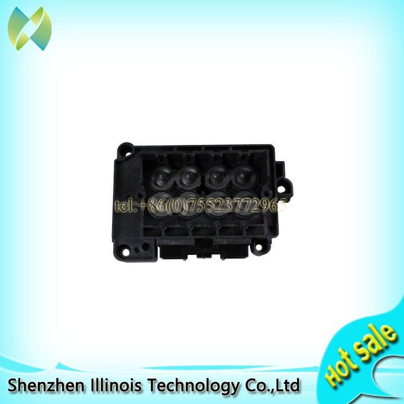 Utiliser pour Epson DX7 tête d'impression F189010 Original solvant collecteur/adaptateur imprimante pièces
