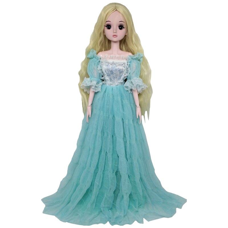Новинка 60 см 21 подвижная соединенная BJD куклы 3D глаза свадебное платье одежда голый Обнаженная девушка Кукла тело обувь Куклы Игрушки для девочек подарок|Куклы|   | АлиЭкспресс