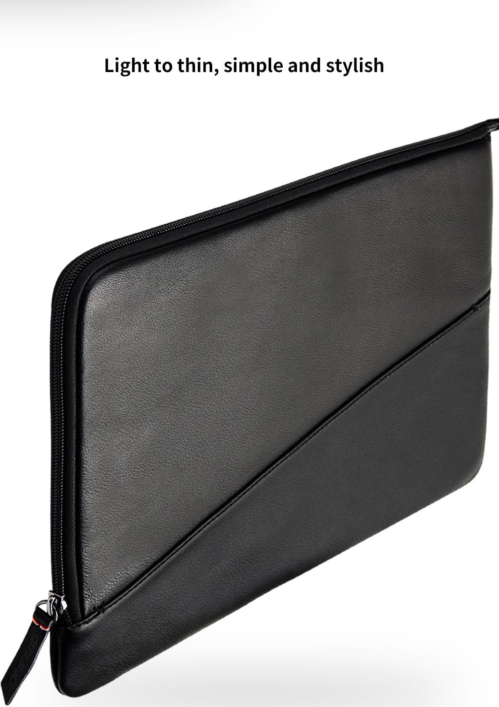 Leather leather Macbook case liner bag
