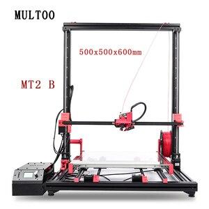 Impresora 3D MT2 MULTOO de gran precisión y gran precisión de alta temperatura y bajo precio