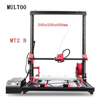 MT2 MULTOO Open Source High Quality Precision Large Printing Size High temperature Low price 3D Printer Precise High-pre