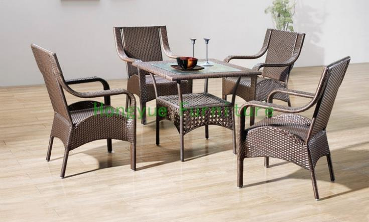 brown pe rattan dining room furniture лопата truper pcl pe 31174
