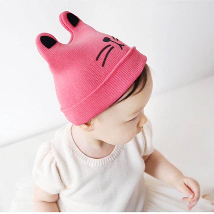 These adorable infant baby hats are made from two layers of very soft % cotton interlock. They measure approximately 6
