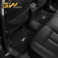 Автомобильные коврики для QASHQAI с 3 w заказной специальный термопластиковый коврик, черный
