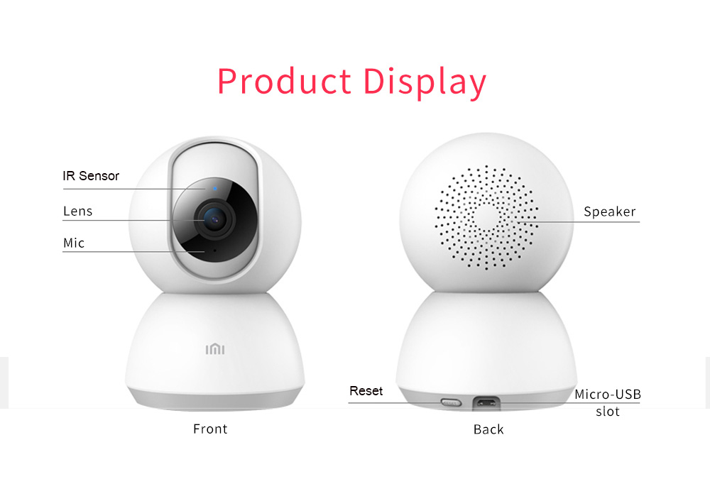 Xiaomi Aqara Camera G2 gateway Edition Mijia Smart camera Zigbee Wifi  Wireless 1080P Photo Video Camera Infrared Night Vision